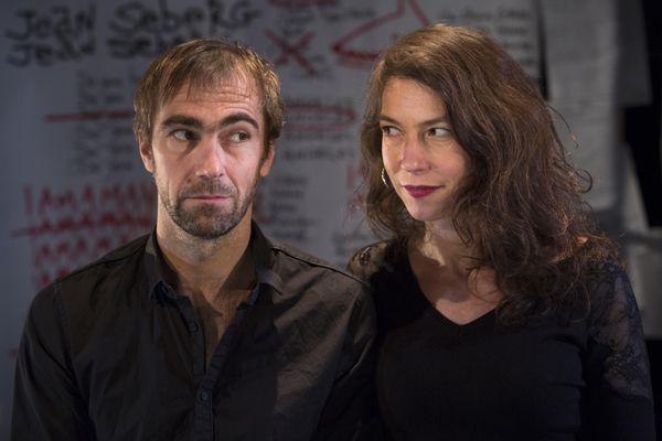 Camille Trouvé et Brice Berthoud, duo de marionnettistes, comédiens et metteurs en scène à la tête du CDN Normandie-Rouen
