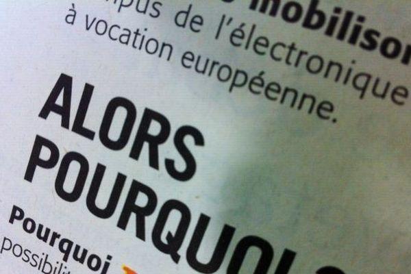 La ville d'Angers s'offre deux pages dans les Echos et le Monde pour sauver le site des ex Thomson.