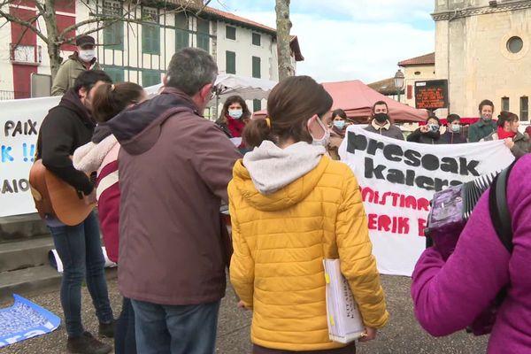 Rassemblement musical à Hasparren en faveur des prisonniers basques ce samedi 26 décembre 20