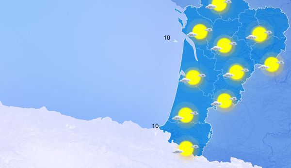 Soleil, nuages élevés et fortes chaleurs sur l'ensemble de la région...