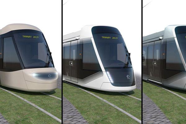 Caen-la-Mer propose à ses habitants de choisir entre trois déclinaisons du modèle Citadis XO5 d'Alstom