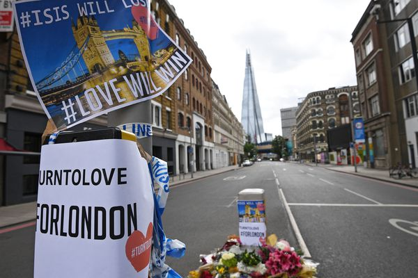 A proximité de l'attaque terroriste du 3 juin 2017