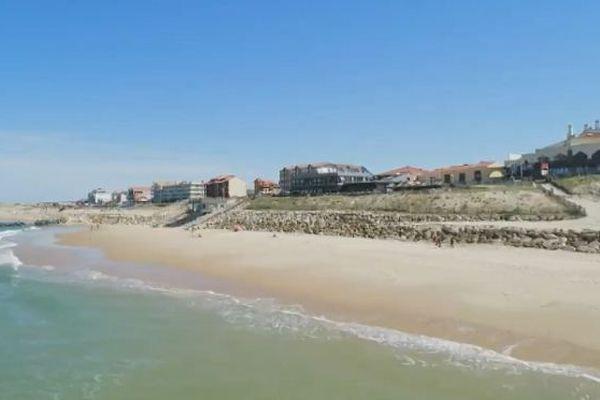 La plage de Lacanau.