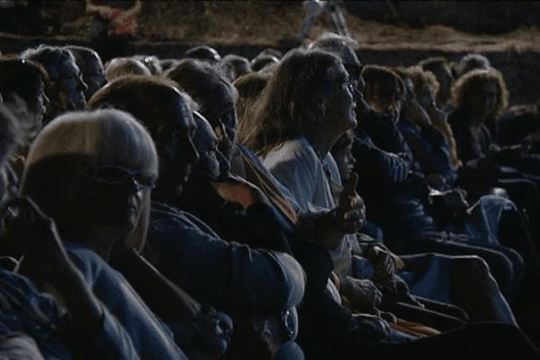 Le festival du film de Lama se déroule dans un cadre exceptionnel.