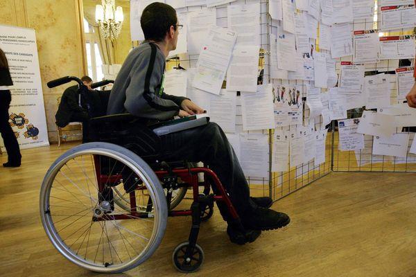 Image d'illustration/ Les personnes en situation de handicap ont deux fois plus de risques de rester demandeurs d'emploi.