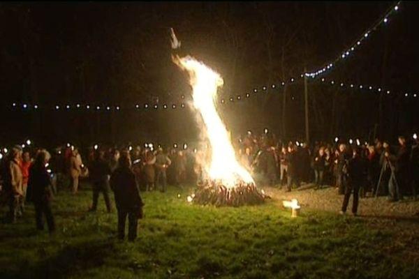 Les vendanges nocturnes de la Saint-Sylvestre sont devenues une tradition.