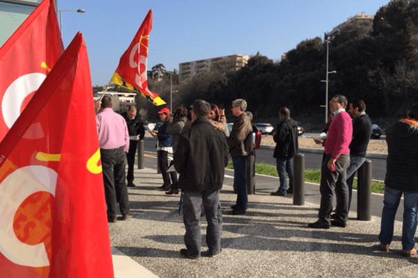Lors de la manifestation à Nice le 24 mars dernier.