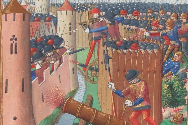 Le siège d'Orléans, pendant la guerre de Cents Ans, a duré du 12 octobre 1428 au 8 mai 1429