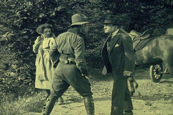 """""""Haceldama ou l eprix du sang"""". Film de Julien Duvivier tourné en 1919 en Corrèze"""