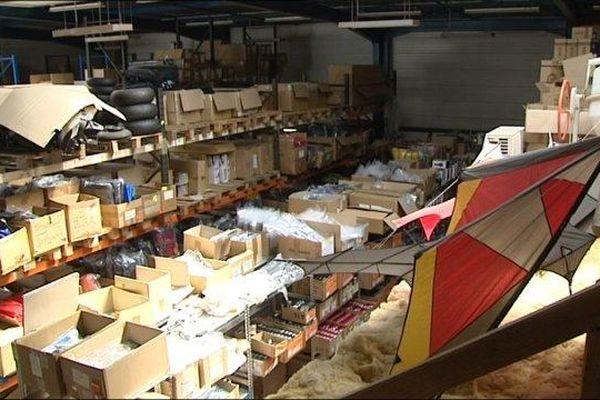 L'entrepôt de la société de E-Commerce, une véritable caverne d'Ali Baba