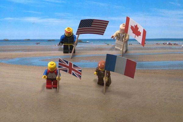 Les Alliés débarquent sur les plages de Basse Normandie, le 6 juin 1944.