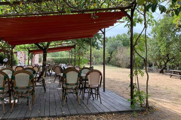Le restaurant de la Maison du Parc.