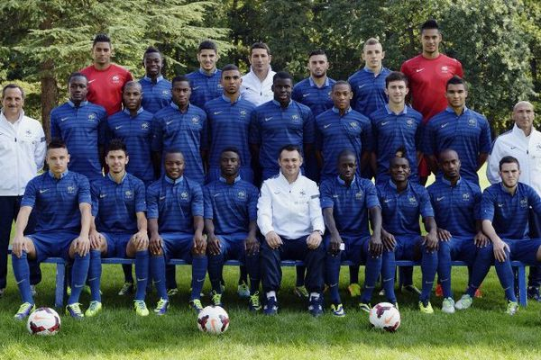 L'équipe de France espoirs de foot