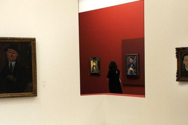 L'exposition Modigliani au LaM de Villeneuve d'Ascq s'est ouverte du 27 février au 5 juin 2016.