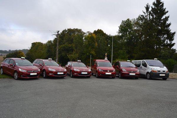 Pour six véhicules en moyenne la compagnie utilise 25.000 litres de carburant sur une année.
