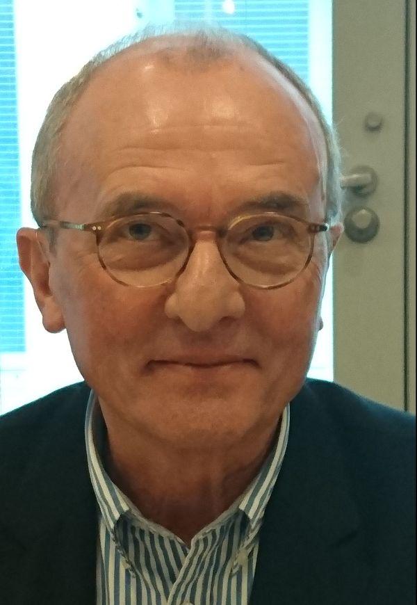 Jacques Portier rprésient du fond de dotation CHRU Tours