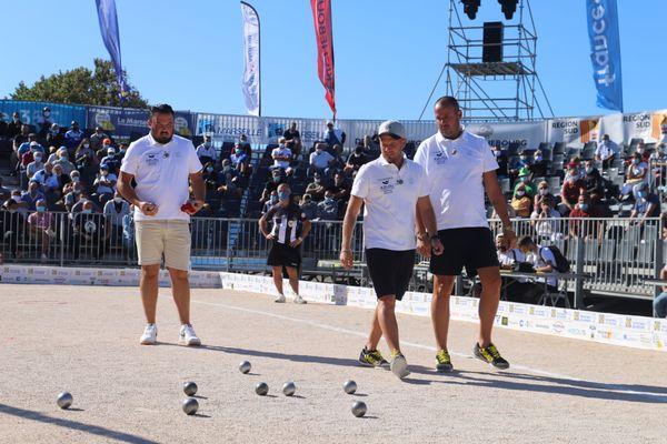 L'équipe Puccinelli a déroulé face à l'équipe Deslys.