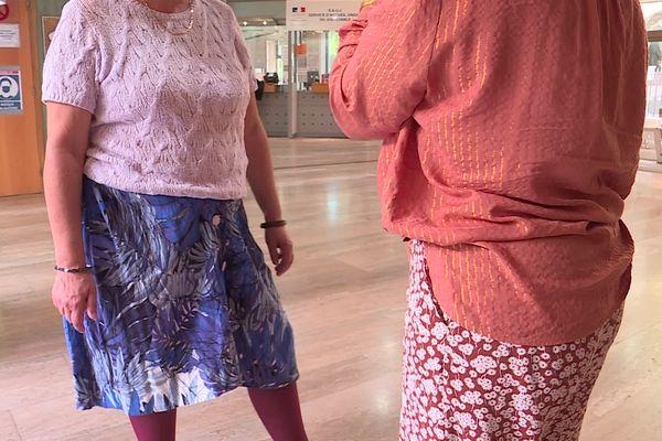 La victime (à gauche), une retraitée, a été débitée de 200 euros sans jamais avoir joué à la Française des jeux.