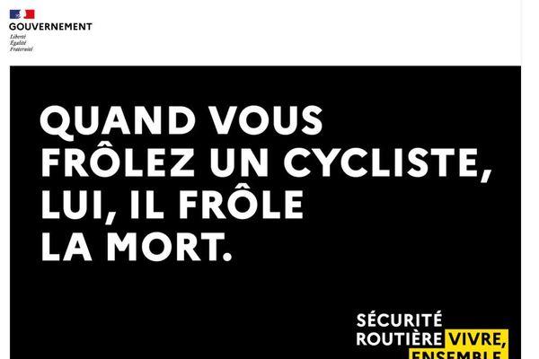 Face à la hausse du nombre de cyclistes, la Sécurité routière a lancé vendredi 25 septembre une vaste campagne de sensibilisation.