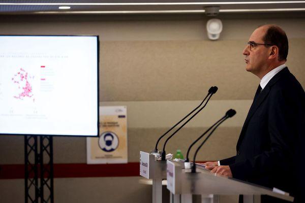 Le Premier ministre Jean Castex annonce des nouvelles mesures pour lutter contre la Covid-19