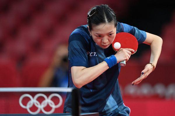 Jianan Yuan, licenciée du TTACC de Poitiers, disputait ses premiers Jeux Olympiques.