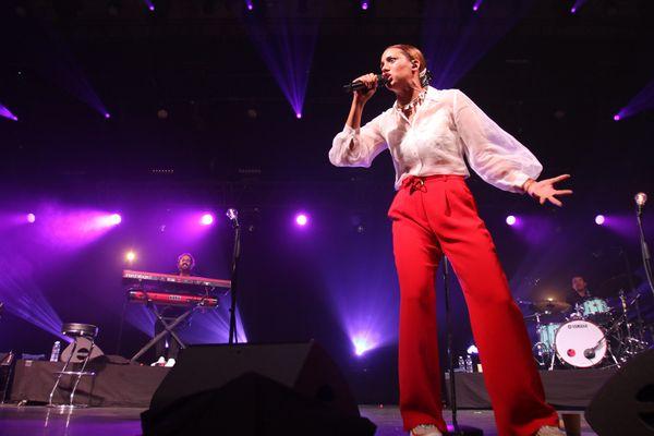 Kimberose en 2019 lors de la 42ème édition du festival Jazz in Marciac.