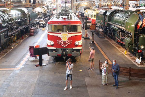 A la cité du train, la fréquentation un jour de pluie peut être multipliée par trois.