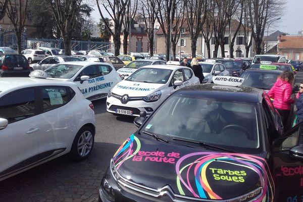 Entre 35 et 40 auto-écoles des Hautes-Pyrénées étaient représentées ce matin
