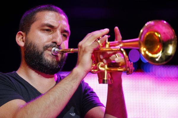 Ibrahim Maalouf revient au palais Longchamp cet été pour le Marseille Jazz des Cinq Continents (ici à Marseille en 2016).
