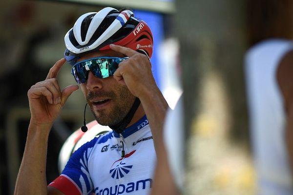 Thibaut Pinot à l'entraînement avant de se lancer dans un Tour de France 2019 prometteur.