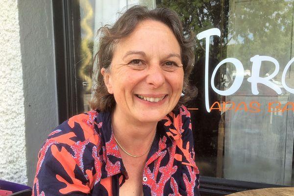 Claire Masson affiche un sourire rayonnant, au terme de cette campagne