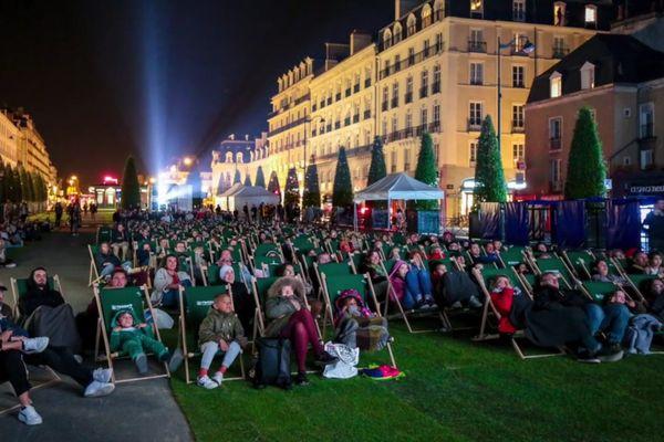Cinéma en plein air à Rennes