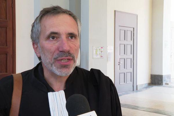 Maître Éric Barbolosi est l'un des deux avocats de Charles Pieri.