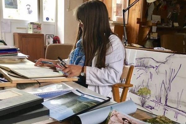 A Fresselines de nombreux artistes perpétuent la tradition du village.