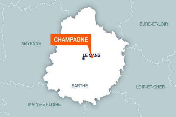 L'explosion a eu lieu à la Caisse d'Epargne de Champagné vers 4h30 ce matin