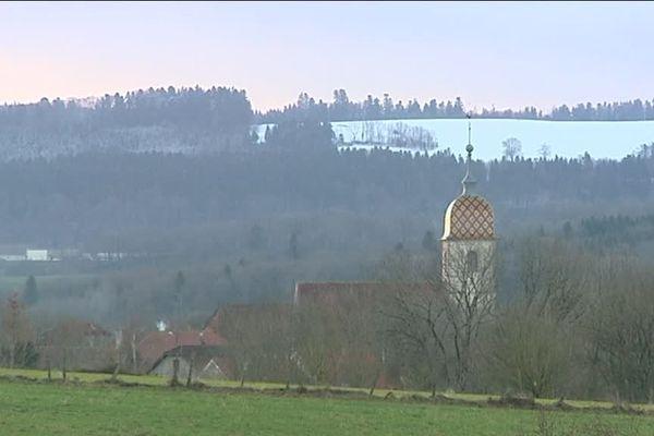 Chantrans, dans le Doubs, compte 500 habitants