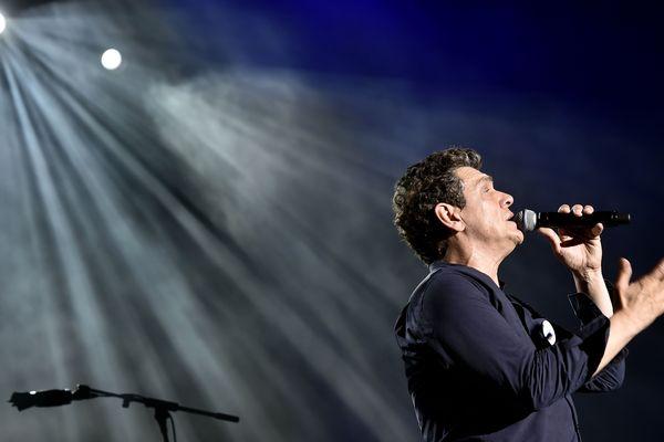 L'incident s'est produit lors du concert de Marc Lavoine (ici sur la scène du festival de Byblos le 12 juillet 2019)