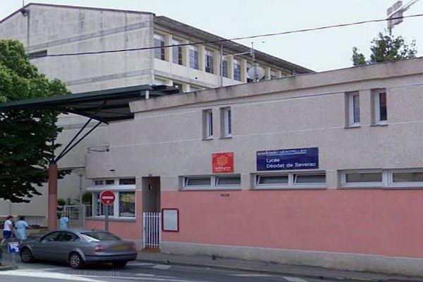 Céret (Pyrénées-Orientales) - lycée Déodat de Séverac - archives