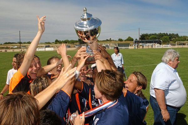 2004: les féminines du MHSC remportent leur 1er titre de championnes de France