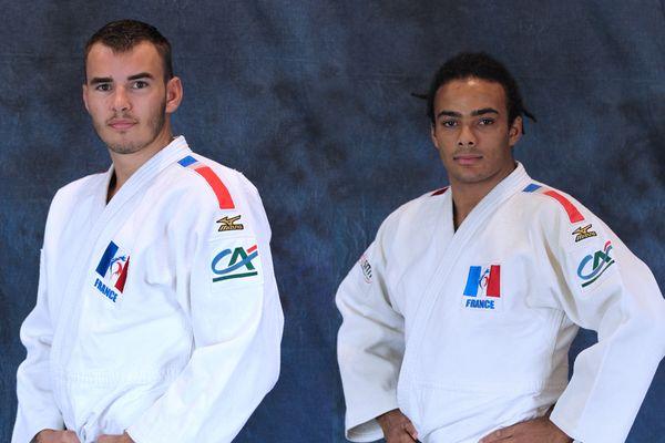 Nathan Petit (-81kg), Hélios Latchoumanaya (-90kg) - Équipe de France de parajudo