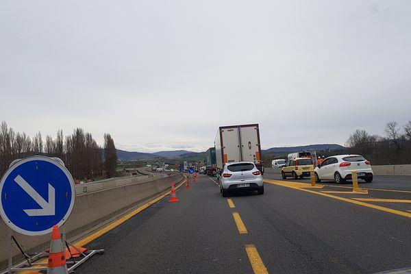 Les travaux de l'autoroute A75 nécessitent de nouvelles fermetures nocturnes entre le 1er et le 4 février, près de Clermont-Ferrand.