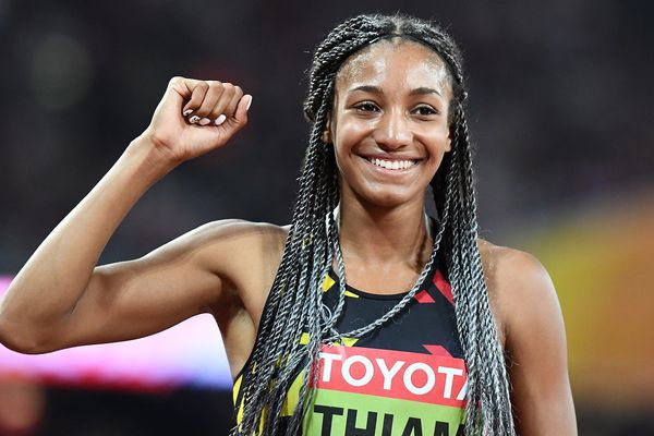 Nafissatou Thiam, première athlète à ramener l'or à la Belgique - Londres, 2017