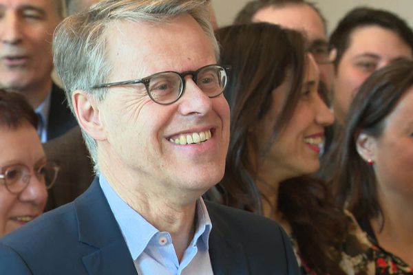 Eric Alauzet en février 2020 à Besançon