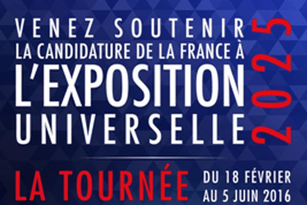 L'affiche d' EXPOFRANCE 2025