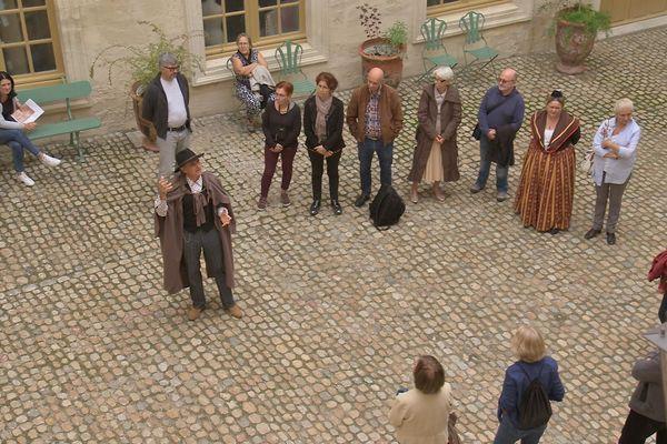 Visite théâtralisée du Palais du Roure en Avignon