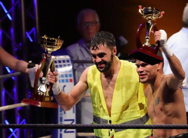 Karim Guerfi victorieux à Hyères. Le boxeur est solidaire des gilets jaunes.