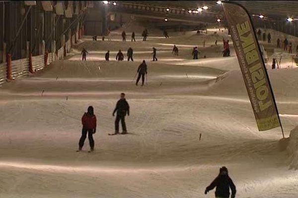 Ski en indoor, au nord de Metz
