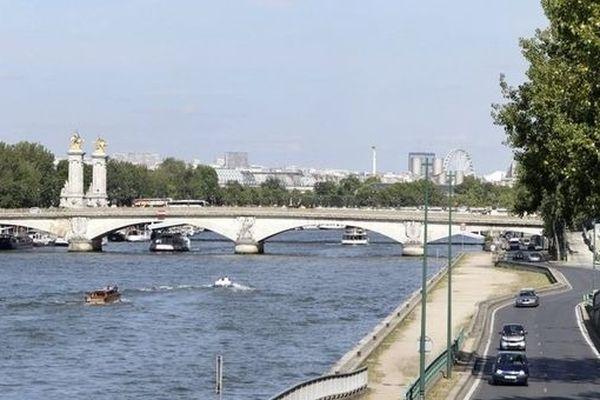 La Seine à Paris