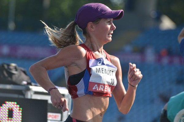 Emilie Menuet, championne de France 2015, 10 km marche