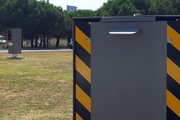 Montpellier - les 2 radars de l'avenue Mendès-France - 2013